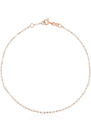 GIGI CLOZEAU 18kt rose beaded anklet