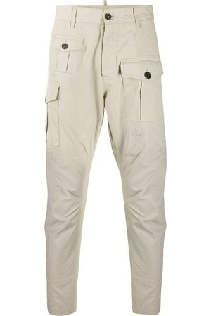 Dsquared2 Distressed cotton cargo pants