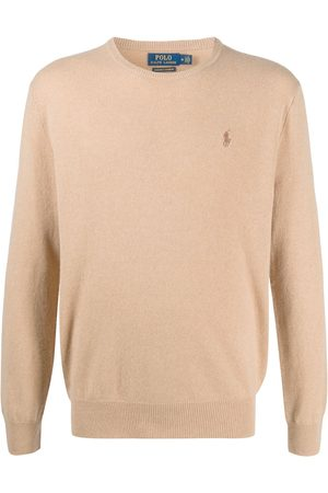 Polo Ralph Lauren Men Jumpers - Embroidered logo cashmere pullover
