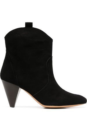 Tila March Diego cone heel ankle boots