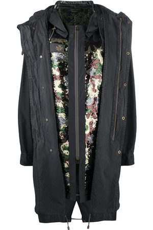 Mr & Mrs Italy X Audrey Tritto camouflage sequin parka