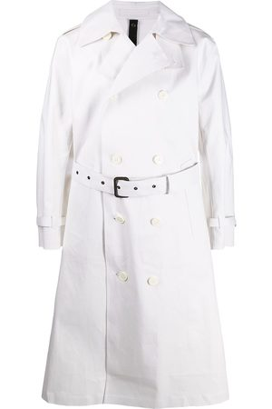 MACKINTOSH Vienna double-breasted belted trench coat