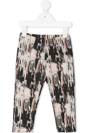 Le pandorine All-over print trousers