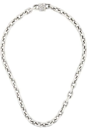EMANUELE BICOCCHI Skull link chain necklace