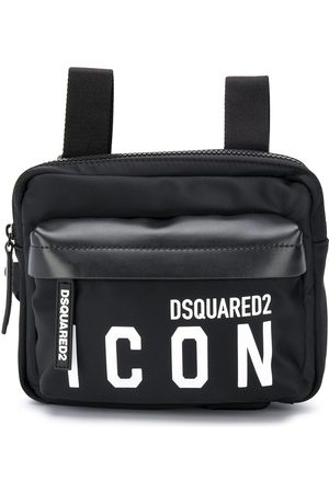 Dsquared2 Small logo print square backpack