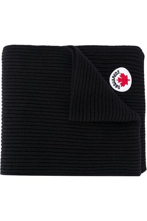 Dsquared2 Logo-patch scarf