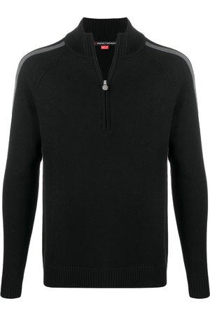 Perfect Moment Side-stripe knitted jumper