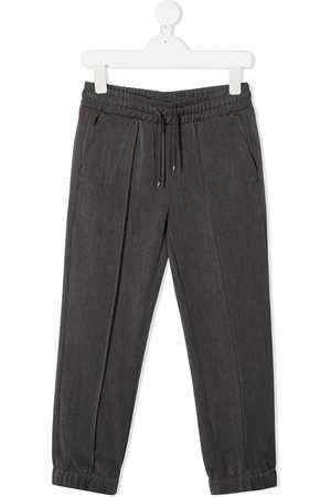 John Richmond Junior Drawstring stretch trousers