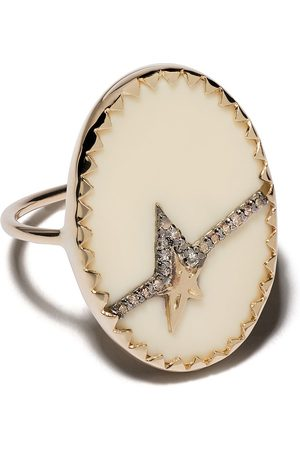Pascale Monvoisin 9kt yellow diamond Varda Nº 3 ring