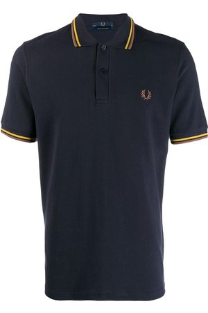 Fred Perry X Art Comes First Contrast stripe polo shirt