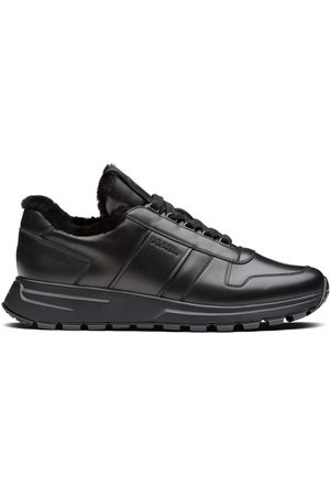 Prada Panelled low-top sneakers