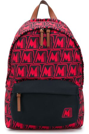 Moncler Pierrick all-over logo backpack