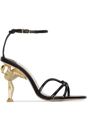 SOPHIA WEBSTER Flamingo heel 100mm sandals