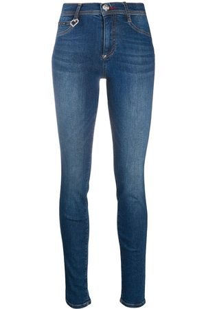 Philipp Plein High-rise jeggings