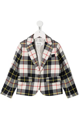 BONPOINT Plaid check blazer