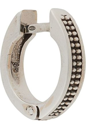 EMANUELE BICOCCHI Dotted textured hoop earring