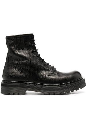 Premiata Leather lace-up ankle boots