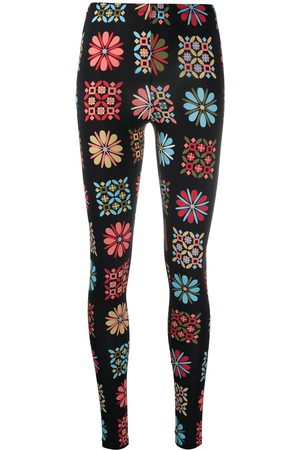 La DoubleJ Floral stretch leggings