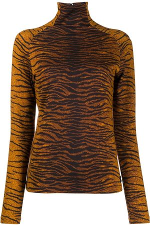 Kenzo Tiger-print long-sleeve top