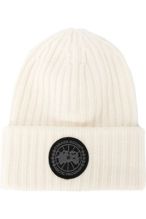 Canada Goose Ribbed-knit wool beanie