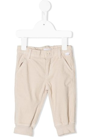 Il gufo Corduroy slim-fit chinos