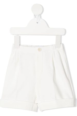 Il gufo Elasticated waist shorts