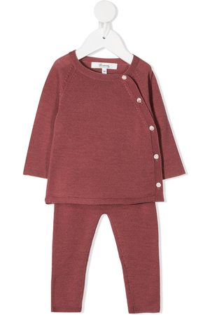 BONPOINT Off-center button tracksuit set