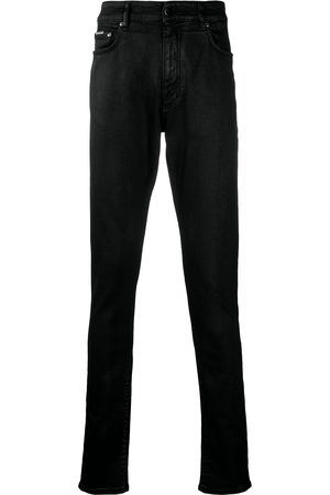 Represent Essential mid-rise straight trousers