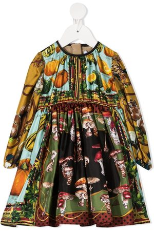 Dolce & Gabbana Graphic-print dress