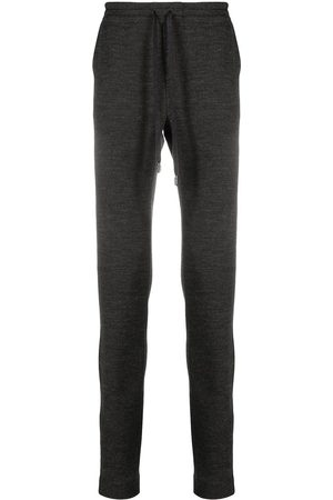 Dolce & Gabbana Slim-fit wool track pants