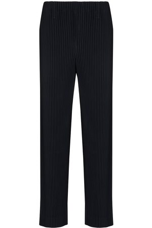 HOMME PLISSÉ ISSEY MIYAKE Pleated-effect straight-leg trousers