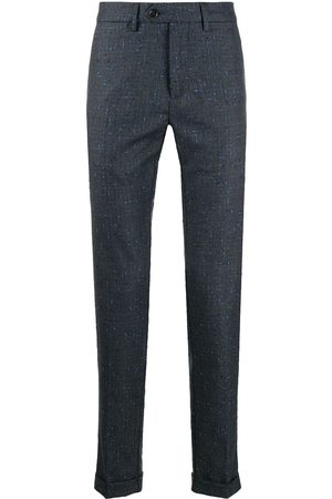 SEVENTY BY SERGIO TEGON Checked tailored trousers