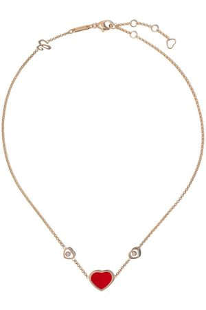 Chopard 18kt rose gold Happy Hearts necklace