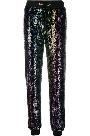 Philipp Plein Monogram sequin trousers
