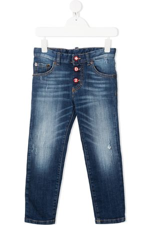 Dsquared2 Faded straight-leg jeans
