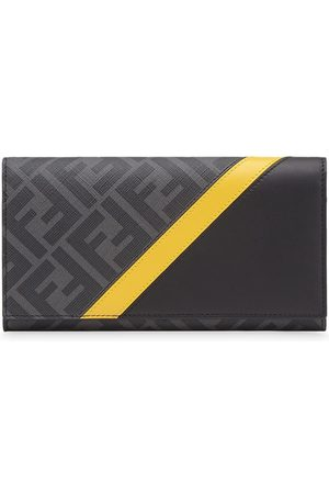 Fendi Panelled FF motif continental wallet
