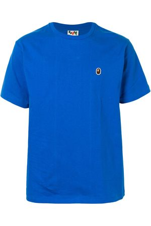 A BATHING APE® One Point logo patch cotton T-shirt