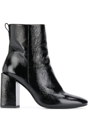 Ami Block-heel ankle boots