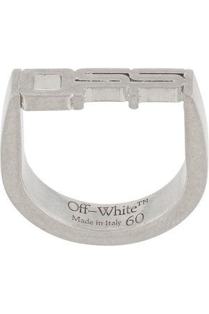 OFF-WHITE Sculpted logo ring