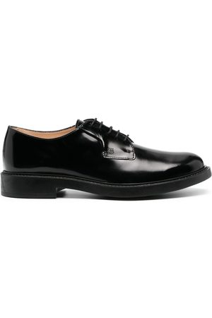 Tod's Patent finish lace-up shoes