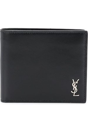 Saint Laurent Logo plaque bi-fold wallet