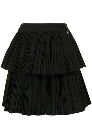 Twin-Set Layered style pleated skirt