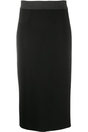 Dolce & Gabbana Jersey calf-length pencil skirt