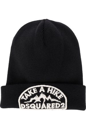 Dsquared2 Embroidered logo beanie