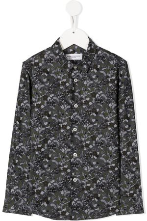 Paolo Pecora Floral long-sleeve shirt
