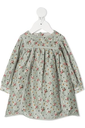 BONPOINT Floral print smock dress