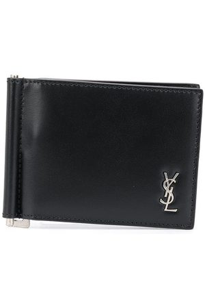Saint Laurent Logo plaque money clip wallet