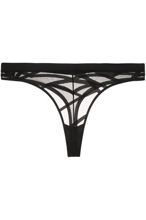Marlies Dekkers The Illusionist transparent butterfly thong