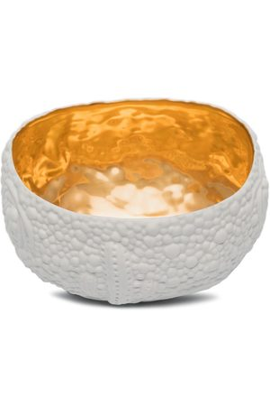 L'objet X Haas Brothers and gold Mojave porcelain bowl