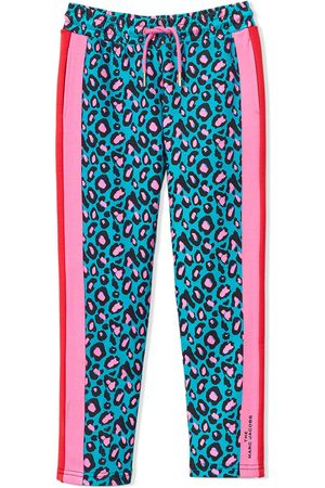 The Marc Jacobs Kids Cheetah track trousers